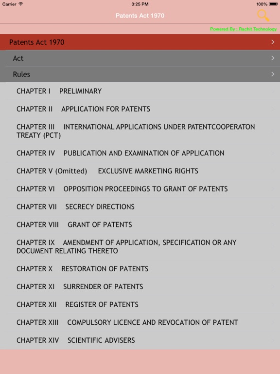 patents act 1970 Posts about patent act 1970 written by iiprd as a result to the pil filed by prof shamnad basheer, complaining against ipo for noncompliance of section 146 (working statement of patent invention), in the year 2015, the delhi high court, recently in january 2018, passed an order directing the government to submit an affidavit.