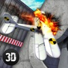 Plane Crashing Test Simulator 3D game for iPhone/iPad
