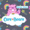 Care Bears Sticker Share