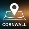Cornwall, Großbritannien, Offline-Auto GPS Wiki