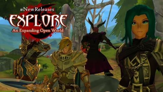 AdventureQuest 3D Screenshot