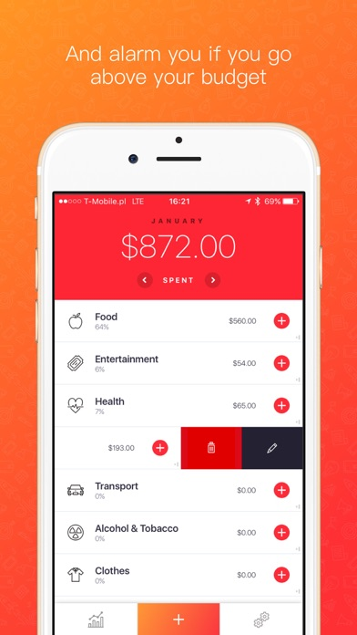 Blinq: Simple Expense Tracker Spendings Analytics Screenshot