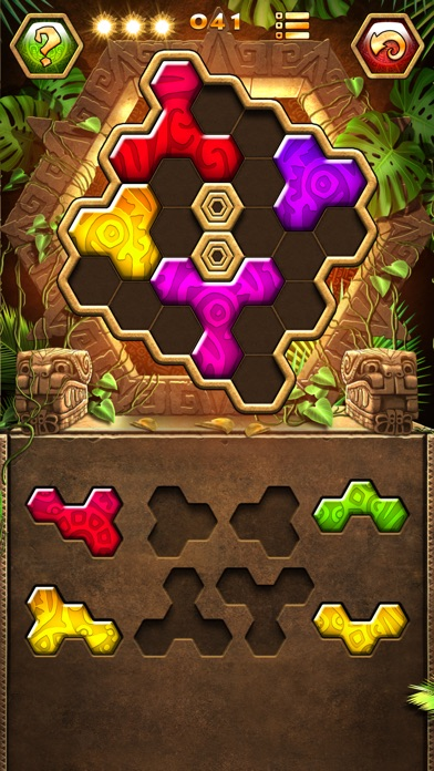 Screenshots of Montezuma Puzzle 3 for iPhone
