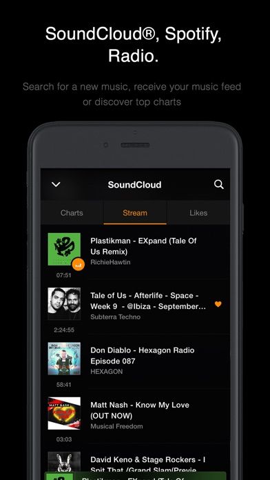 Screenshot #4 for VOX: FLAC Music Player with MP3 & Equalizer