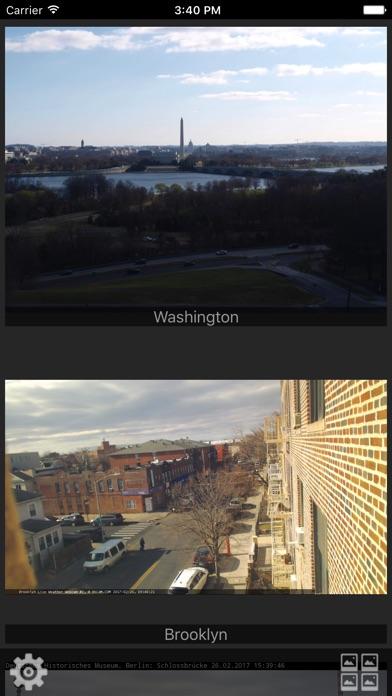 Screenshot von Webcams Lite - deine Kameras im Blick2