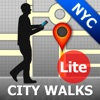 New York Map and Walks