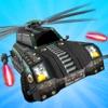 撮影飛行機:ヘリコプターの車の撮影