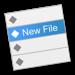 New File Menu