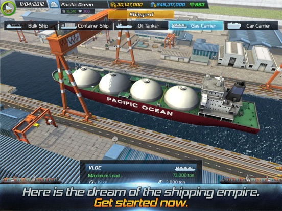 Screenshot #5 for Ship Tycoon