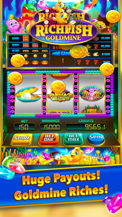 App shopper rich fish gold mine win slots games for Big fish casino best paying slot