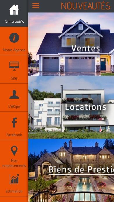 Ekilibre - Agence immobilièreCapture d'écran de 2