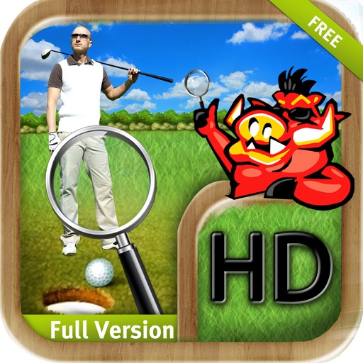 Great Golf Hidden Objects Secret Mystery Adventure iOS App