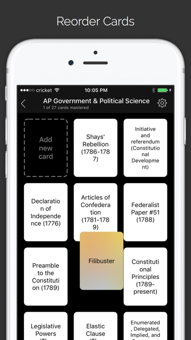 Go FlashCards - Learn and memorize with flashcards Screenshot