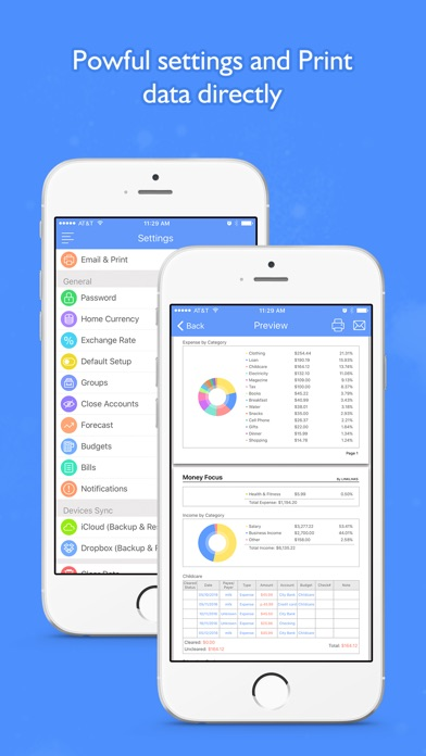 Screenshot #10 for Money Focus Pro - Account, Budget and Bill Manager