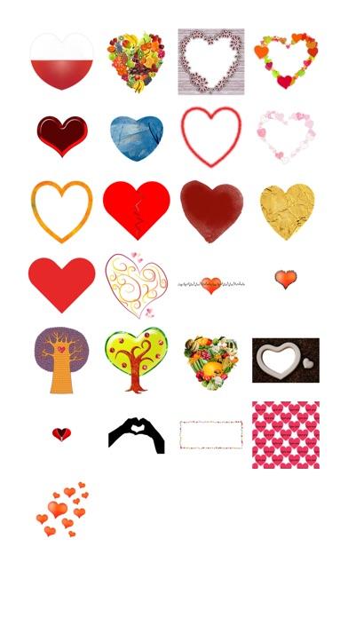 Сердца наклейки обновления!Скриншоты 1