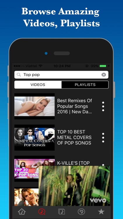 Trending Music Tube-Music Player in Youtube Music by Duc NT