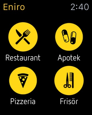 Eniro On The App Store - Map sweden eniro
