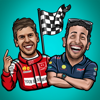 download Formula 1 drivers stickers from F1 motorsport fans