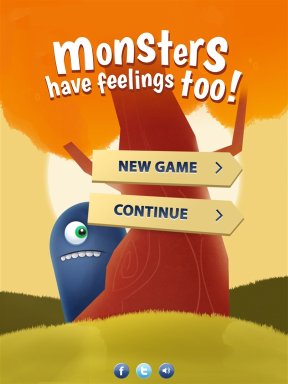 Screenshot #1 for Monsters have feelings too!