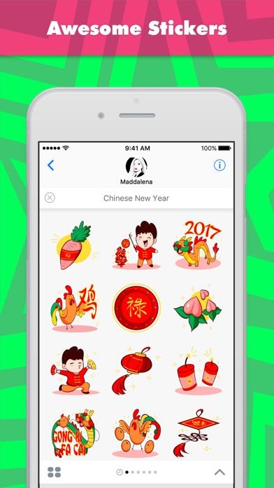 Screenshot of Sticker Chinese New Year di Maddalena1