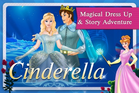 Cinderella Fairy Tale Dress Up and Storybook HD screenshot 1