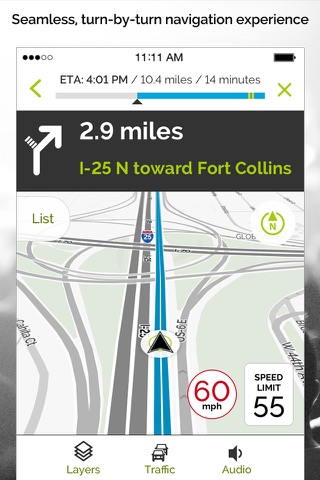 MapQuest: Navigation & Maps screenshot 1
