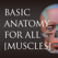らくらく解剖学[筋肉]
