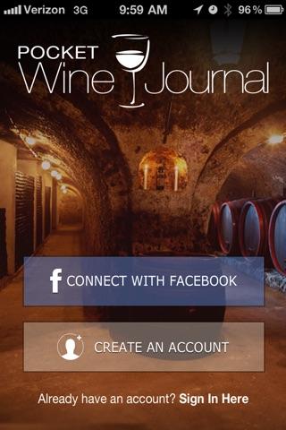 Pocket Wine Journal screenshot 1