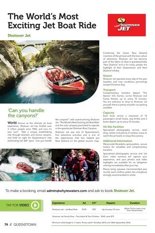 Novotel Queenstown Lakeside Magazine screenshot 3