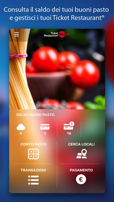 Ticket Restaurant® Mobile Screenshot