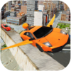 City Futuristic Flying car driving Wiki