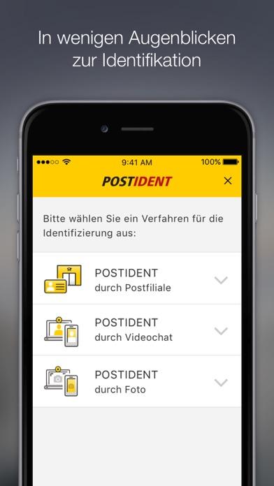 download POSTIDENT apps 2