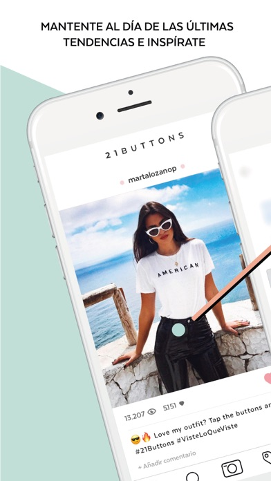 download 21 Buttons - Social Fashion apps 1
