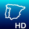 Aqua Map Iberia: Espanha, Portugal Cartas náuticas