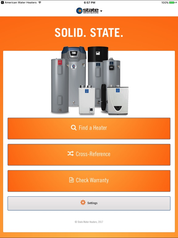 state water heaters by state industries