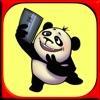 搞笑熊貓 - 幽默貼紙和情感圖片