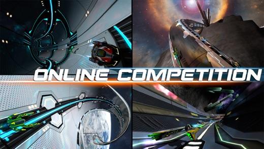 Cosmic Challenge: Best online space racing game Screenshot