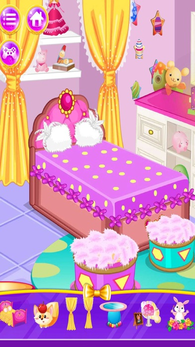 Princess Bedroom Design Makeover Salon App Download