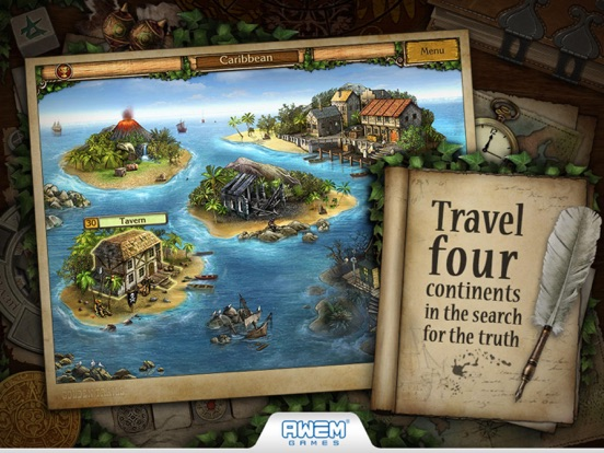 Screenshot #2 for Golden Trails 2: Hidden Object Adventure (Premium)