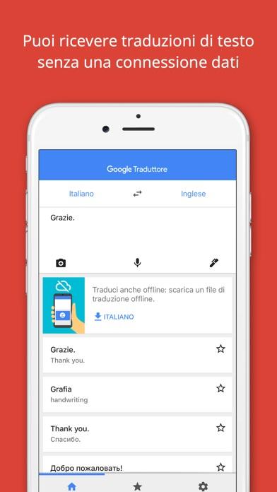Google Traduttore Screenshot