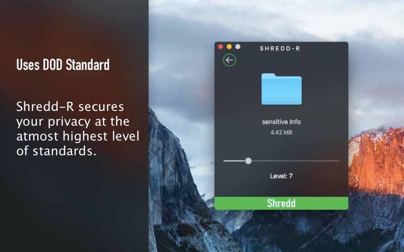 ShreddR- Shredding beyond Recovery Screenshots