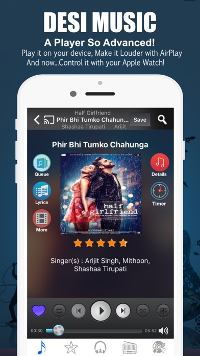 Desi Music for Bollywood Songs Screenshots