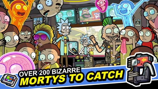 Rick and Morty: Pocket Mortys Screenshot