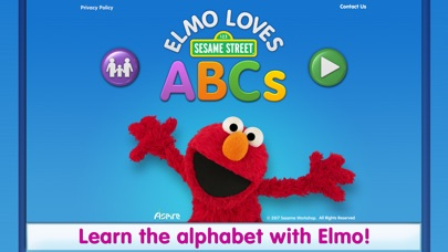 Elmo Loves ABCs Screenshot