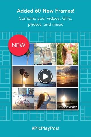 PicPlayPost - Video Editor screenshot 1