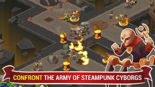 蒸汽朋克辛迪加2:塔防游戏