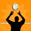 Volleyball Player Game Stats Tracker & Notebook