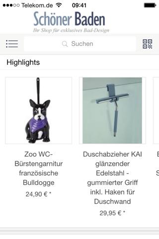 Schöner Baden Shop-App screenshot 2