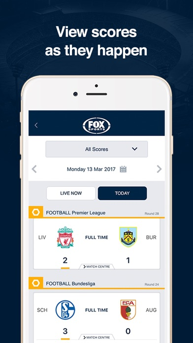 FOX Sports Official App screenshot three