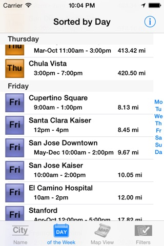 California Farmers' Market Finder screenshot 4